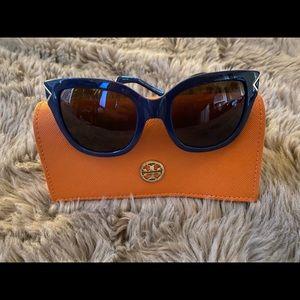 Tory Burch Women's Navy Blue Sunglasses